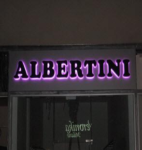 שילוט מואר albertini